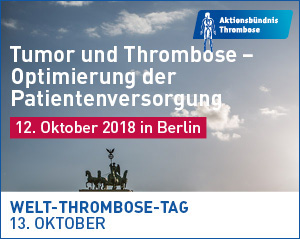 Welt-Thrombose-Tag 2018